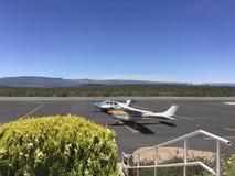 Avions à l'aéroport Arizona de Payson Image libre de droits