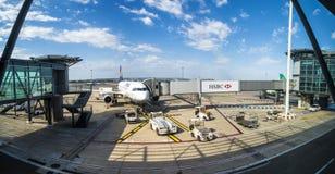 Avions à l'aéroport de Marseille Images stock