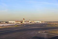 Avions à Lufthansa Technik Photos libres de droits