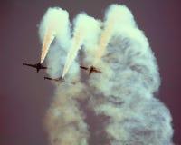 Avions à réaction CM170 français Image stock