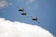 Avions à réaction CM170 français Photographie stock libre de droits