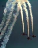 Avions à réaction CM170 français Photo libre de droits