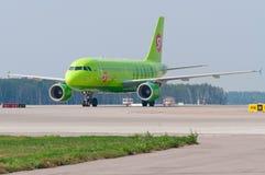 Avions à réaction d'Airbus A320 Images libres de droits
