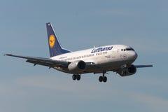 Avions à réaction de Boeing B737 Images stock