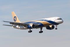 Avions à réaction de Boeing B757 Photographie stock