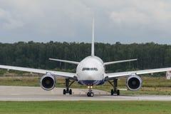 Avions à réaction de Boeing 777-200ER Image libre de droits