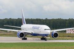 Avions à réaction de Boeing 777-200ER Photographie stock