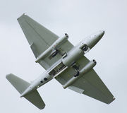 Avions à réaction de guerre froide Canberra Image libre de droits
