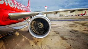 Avions à réaction de la ligne aérienne Air Asia Photographie stock