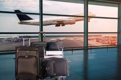 Avions à réaction de la ligne aérienne Air Asia Photo stock