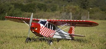 Avions électriques de RC Photo libre de droits