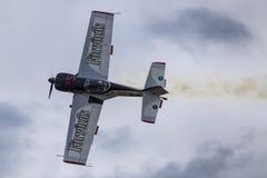 Avions acrobatiques aériens Image libre de droits