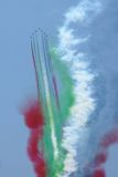 Avions acrobatiques aériens photographie stock libre de droits
