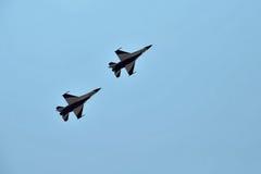 Avions acrobatiques aériens Photos stock