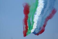 Avions acrobatiques aériens Photo libre de droits