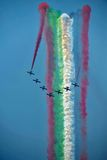 Avions acrobatiques aériens Photographie stock