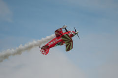 Avions acrobatiques aériens spéciaux de Pitts Photographie stock