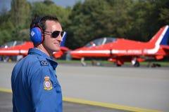 Avions acrobatiques a?riens de RAF Photos libres de droits