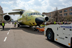 Avions Antonov An-178 Photographie stock