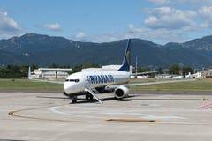 Avions Boeing 737-800 de Ryanair Photographie stock libre de droits