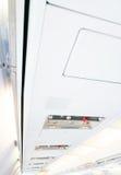 Avions commerciaux Images stock