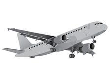 Avions commerciaux Photo libre de droits
