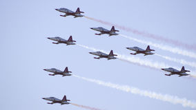 Avions d'air Photographie stock libre de droits