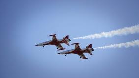Avions d'air Photos libres de droits
