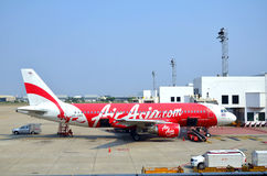 Avions d'Air Asia Photographie stock