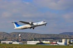 Avions d'Air Europa à l'aéroport d'Alicante Photos stock