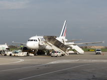 Avions d'Air France Image libre de droits