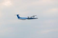 Avions d'ANA dans l'aéroport international Japon de Chubu Centrair Images stock