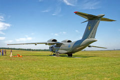 Avions d'Antonov An-72 Photographie stock libre de droits