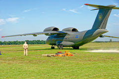 Avions d'Antonov An-72 Photos stock