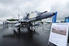 Avions d'attaque transporteur-capables subsoniques de siège unique McDonnell Douglas A-4N Skyhawk Photo stock
