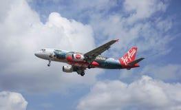 Avions d'atterrissage Photos libres de droits