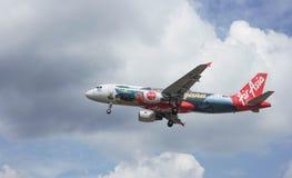Avions d'atterrissage Image libre de droits