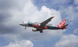 Avions d'atterrissage Photographie stock libre de droits