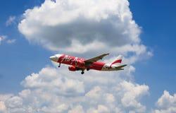 Avions d'atterrissage Images libres de droits