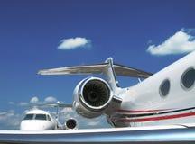 Avions d'avion à réaction Image stock