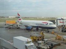 Avions de British Airways Images libres de droits