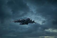 Avions de C 17 Globemaster Photos libres de droits