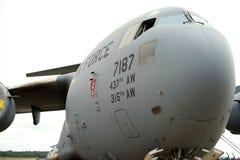 Avions de C-17 GLOBEMASTER photo libre de droits