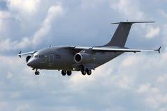 Avions de cargaison d'Antonov An-178 Photos libres de droits