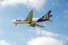Avions de cargaison de Fedex Image libre de droits