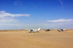Avions de Cessna en Namibie Photos libres de droits