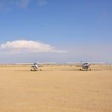 Avions de Cessna en Namibie Photo libre de droits
