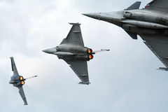 Avions de chasse Images libres de droits