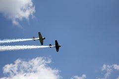 Avions de chasse de la guerre mondiale 2 Photographie stock libre de droits