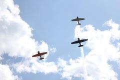 Avions de chasse de la guerre mondiale 2 Photographie stock